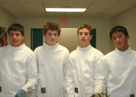The Morgan Boys 2011 Fencing Team