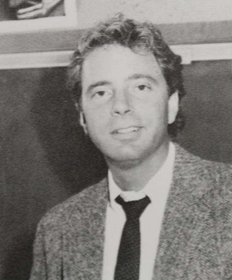 Mr. Serenbetz back in 1987.