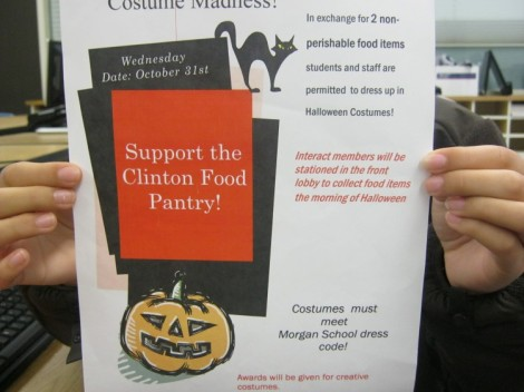 Clinton Food Pantry Poster