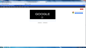 print screen of google