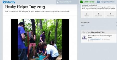 Storify Husky Helper Day