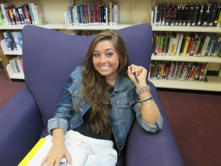 Senior Olivia Scobie