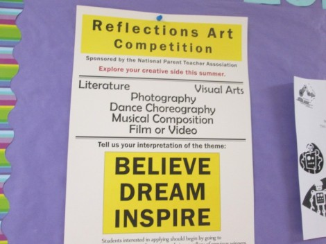 Reflection Art Competition