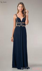 1st dress navy blue
