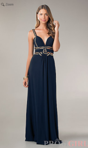 1st dress navy blue