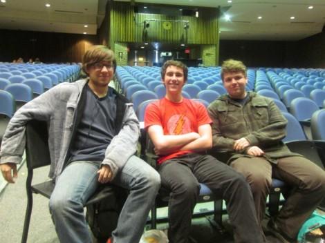 Seth, Chase, Charlie