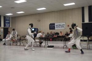 The Morgan Fencing Tournament