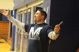 Announcer Mr. Luther