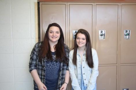 Natalie and Sarah