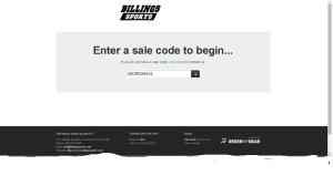 sale billingsports