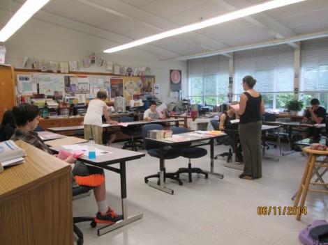 Ms. Wickam's Freshman Class