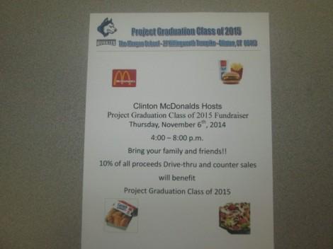 McDonald's flyer
