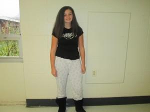 Freshman Kiara Lopez