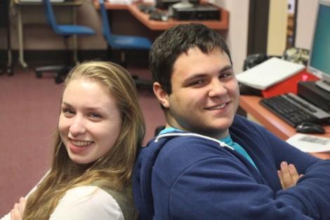Lucas Cummings and Alaina Harnett