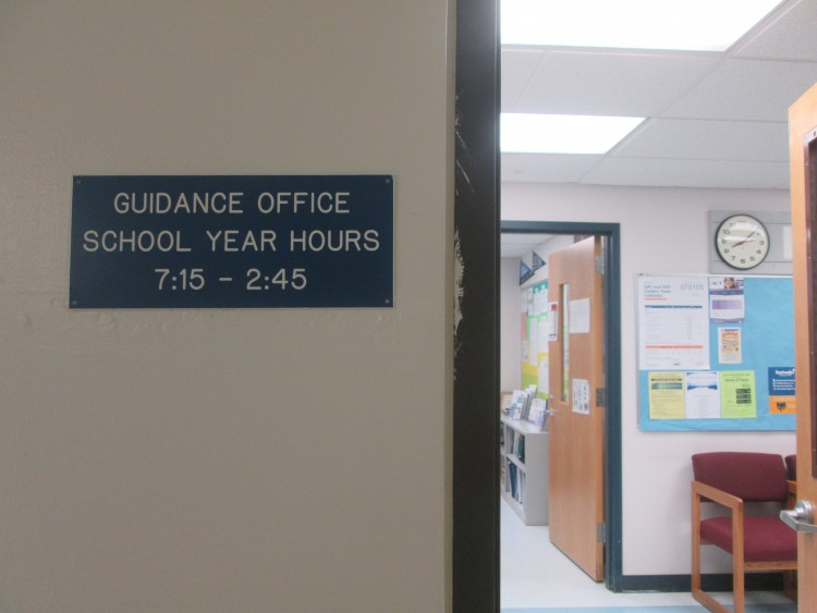 Guidance Office Plate