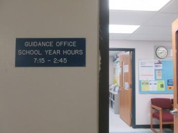 Guidance Office Plate