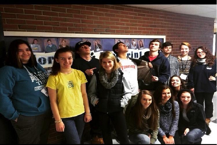 PawPrint Staff Fall 2014