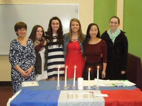 french national honor society inductees
