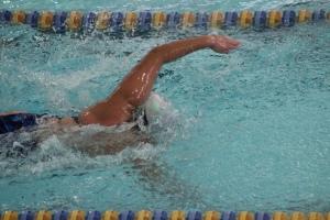 Tori Barron swim