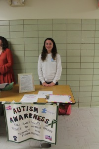 Autism Awareness at Club Fair