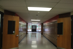 Here at the Old School, all English teachers are together in the same hall