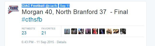 Sept 11 Twitter Football