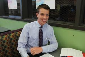 Student Sam Moran