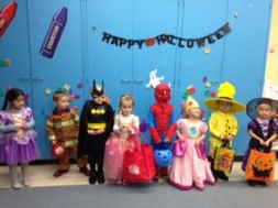 Child developement preschool halloween