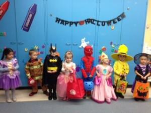 Child developement preschool halloween