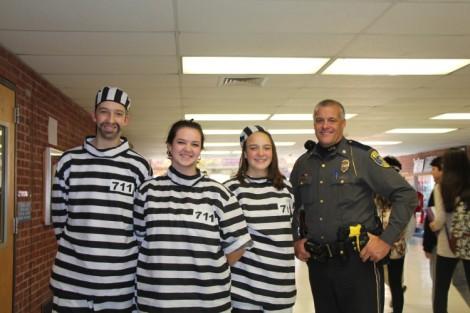 Halloween jail