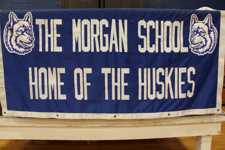 The morgan school home of the huskies