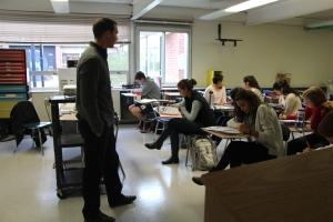 Mr Z teaching
