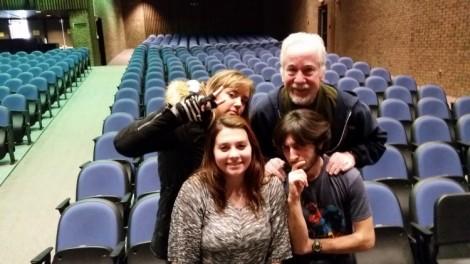 Anything Goes the Musical, Claudia Nedderman, Mr.Lampe, Taylor Bergeron, Sam Shapiro
