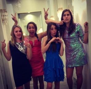 Cara, Deja, Willow, Arielle