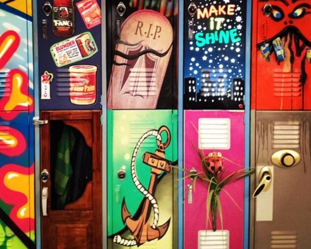 take home your lockers and take home the memories