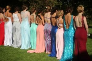 Prom back Pic