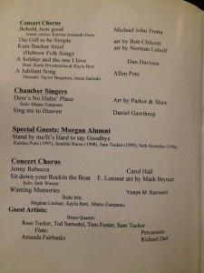chorus pamphlet