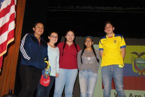 Ecuador Students  Daysi, Alexis