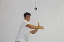 Sophomore Deven Talarczyk killing it at a school dance