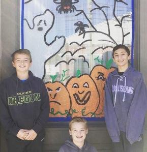 Halloween Window Painting