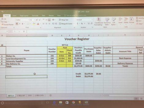 Voucher Registry Data
