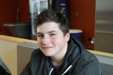 Freshman Jacob McDonnell