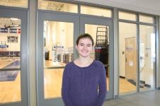 Sophomore Phoebe Sullivan