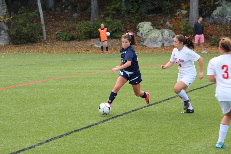 Girls Soccer Game